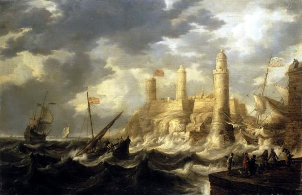 Бонавентура I Петерс. Укрепленная гавань