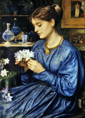 Edward John Poynter. Portrait Of Agnes