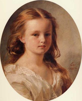 Franz Xaver Winterhalter. Portrait Of Rose Potocki