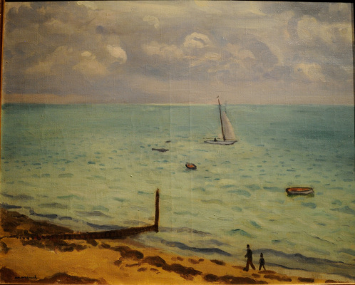 Albert Marquet. Sailboat in the Bay...