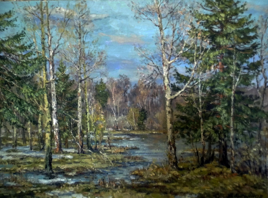 Victor Vladimirovich Kuryanov. Breath of spring