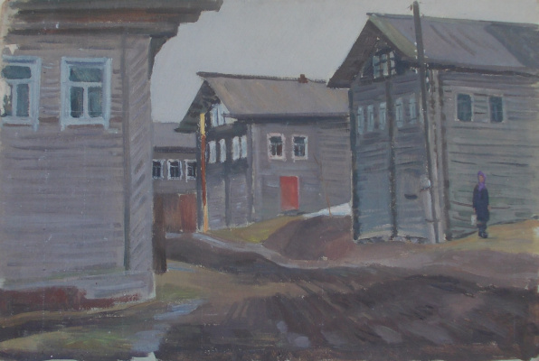 Nina Vasilievna Sedova. Vologda village