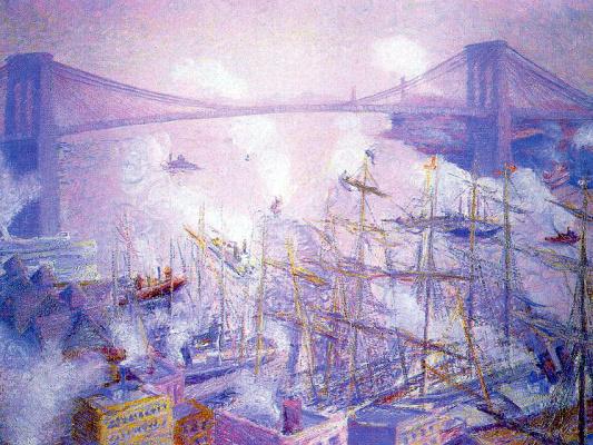 Теодор Эрл Батлер. Большой мост