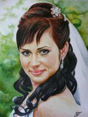 Хельга Эдуардовна Григорьева. Bride.