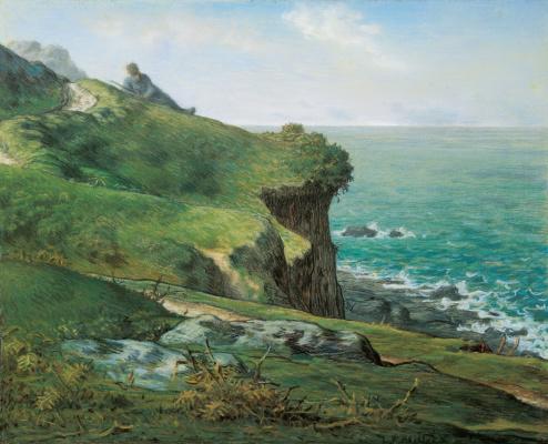Jean-François Millet. Rocks of greville