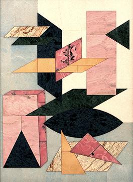 Boris Lazarevich Oshkukov. A la Malevich, Florentine mosaic