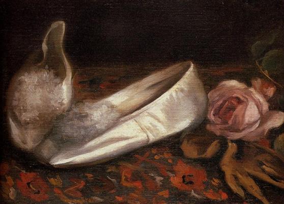 Eva Gonzalez. White shoes
