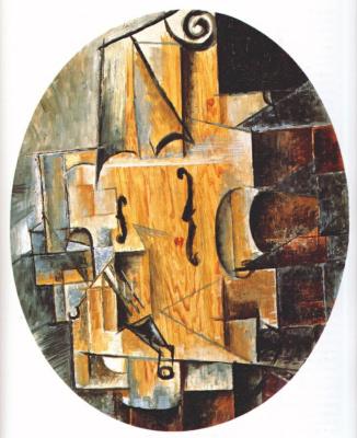 Pablo Picasso. Violin