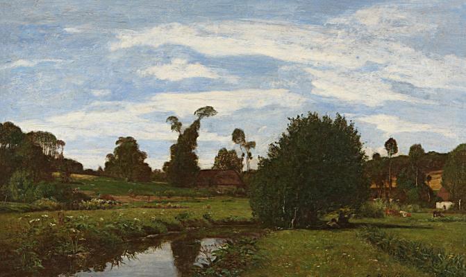 Нормандский пейзаж