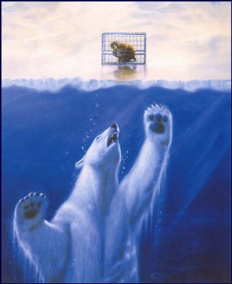Джеан Пиерр Таргет. Белый медведь