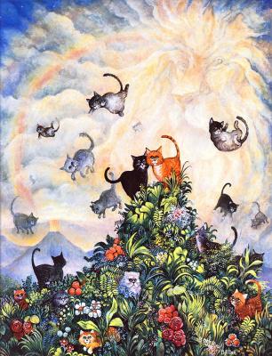 Билл Белл. Веселые коты