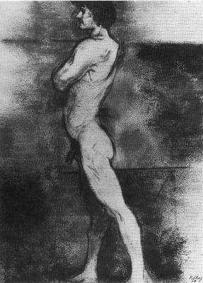 Ronald China. A naked man
