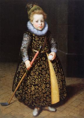 Паулюс Морелсе. 4-летний мальчик и мяч