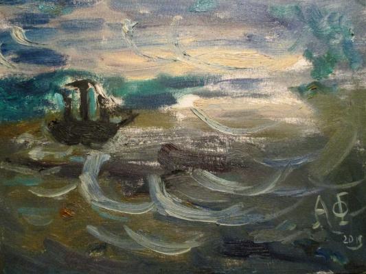 Алексей Фролов-Багреев. Море