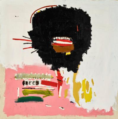 Jean-Michel Basquiat. Untitled (Wax)
