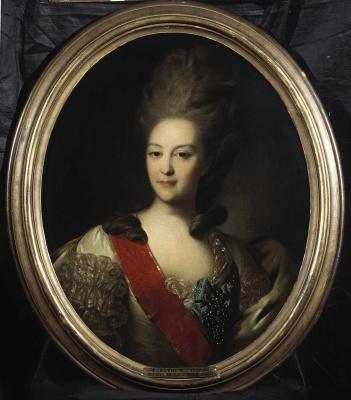 Fedor Stepanovich Rokotov. Portrait of Princess Ekaterina Nikolaevna Orlova