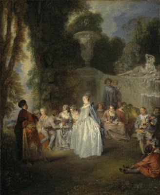 Антуан Ватто. Венецианский праздник