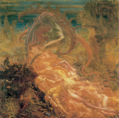 Jean Delville. The Treasures of Satan