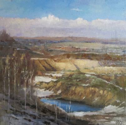 Ольга Акрилова. Dmitrovsky pit