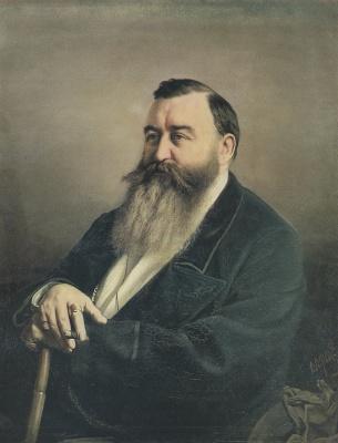 Vasily Grigorievich Perov. Portrait Of F. F. Rezanov