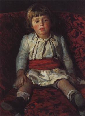 Portrait of Nikolay GE, the artist's grandson