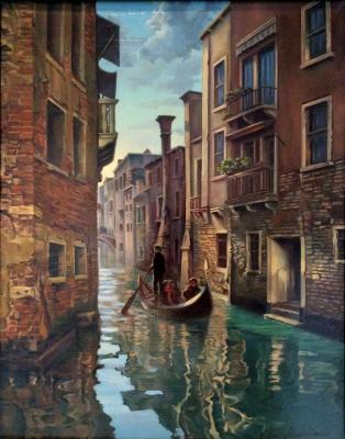 Anna Mukhamedchina. Venice