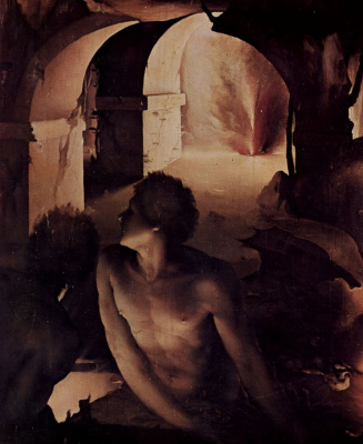 Hell, detail: the Damned