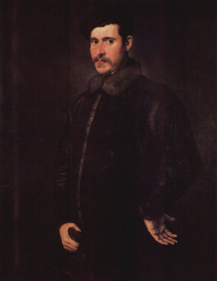Jacopo Tintoretto. Portrait of a noble gentleman