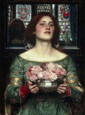 John William Waterhouse. Gather ye rosebuds...