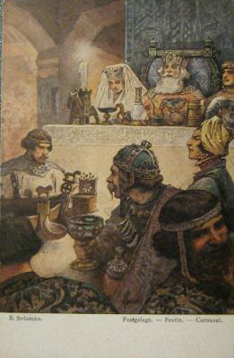 Sergey Sergeyevich Solomko. Feast