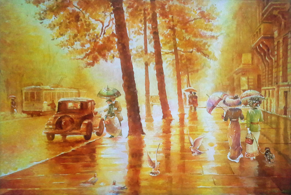 Alexey Yuryevich Maslov. Autumn