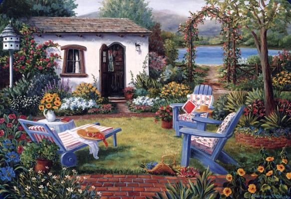 Barbara Feliski. In the country