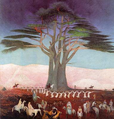 Костка. Хоровод под деревом