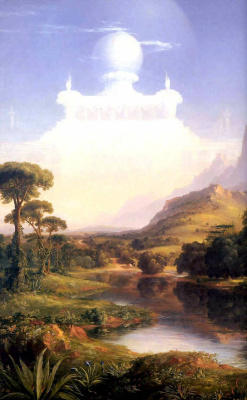 Thomas Cole. The voyage of life youth