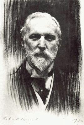 John Singer Sargent. Robert Henry Benson