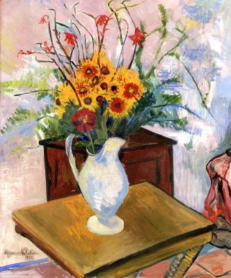Suzanne Valadon. Yellow daisies