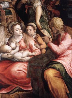 Михиль ван Кокси. Обрезание Христово
