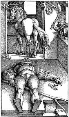 Ханс Бальдунг. Околдованный конюх