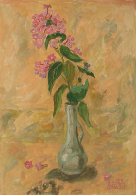 Larissa Lukaneva. Branch of a Phlox
