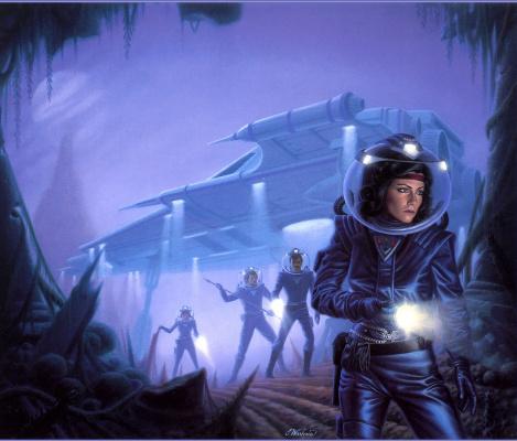 Джеймс Вархола. Космические воины