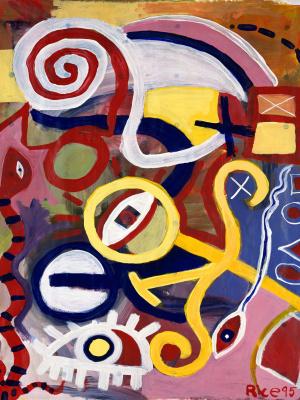 Арнольд Райс. Разноцветные образы