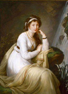 Elizabeth Vigee Le Brun. Portrait Of Anna Ivanovna Tolstoy