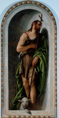 Paolo Veronese. St. John the Baptist