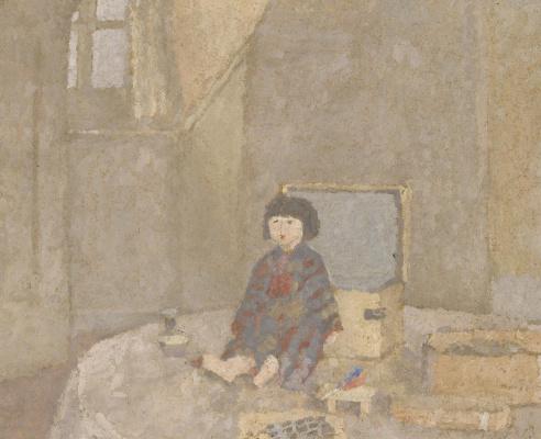 Гвен Джон. Японская кукла