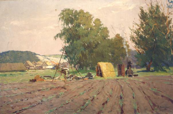 Moses Lvovich Wolshtein. Rural motif