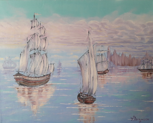 Sergey Vladislavovich Pichugin. Ship Waltz