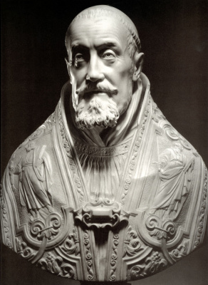 Gian Lorenzo Bernini. Bust of Pope Gregory XV