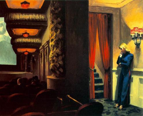 Edward Hopper. New York theater