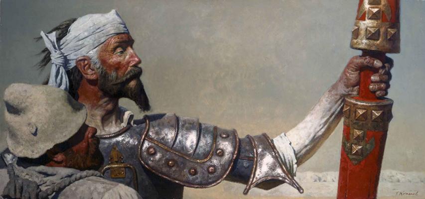 Heliy Mikhailovich Korzhev. Don Quixote and Sancho Panza