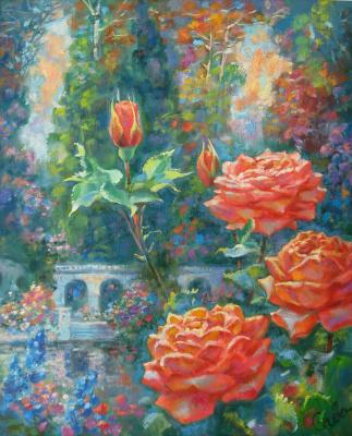Natalya Savenkova. Marvelous garden